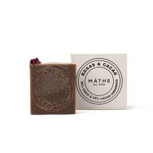 jabón premium rosas y cacao