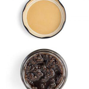 sal exfoliante naranja café