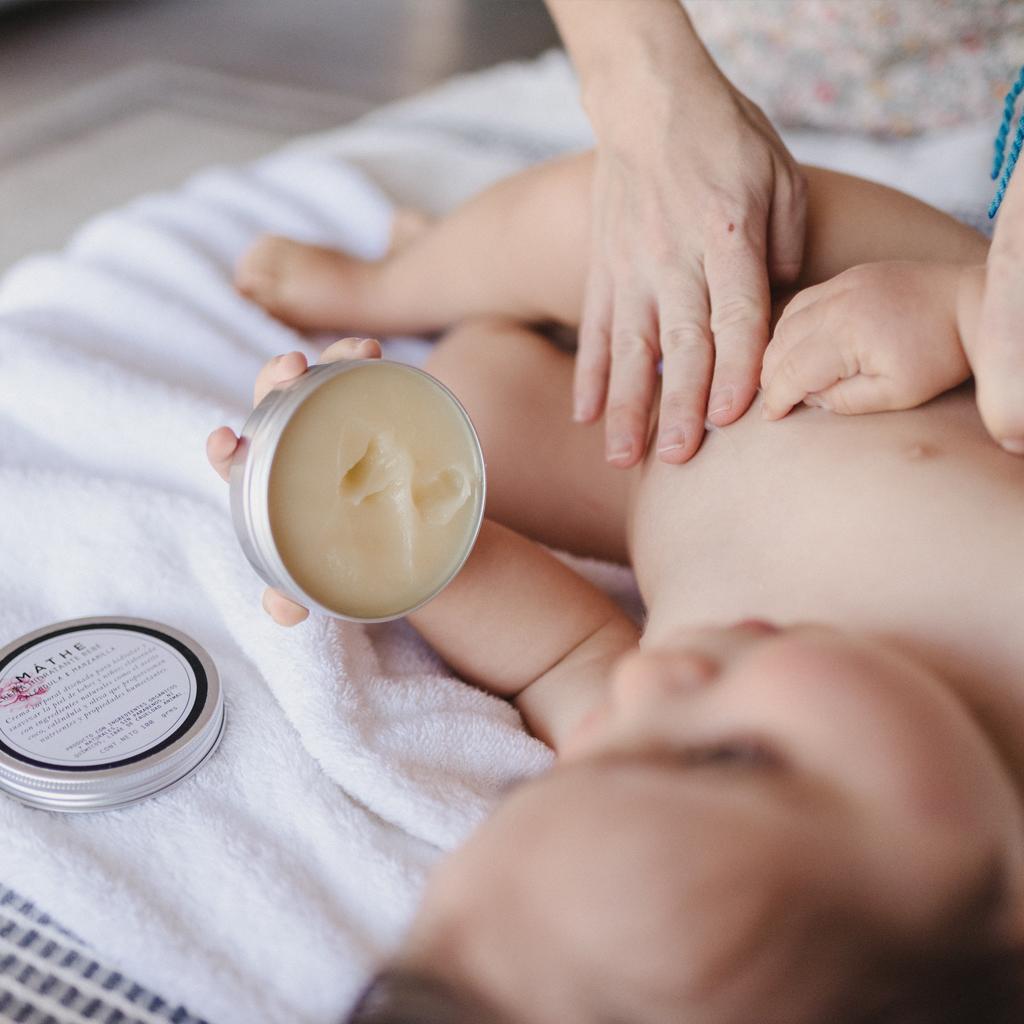 crema para bebés
